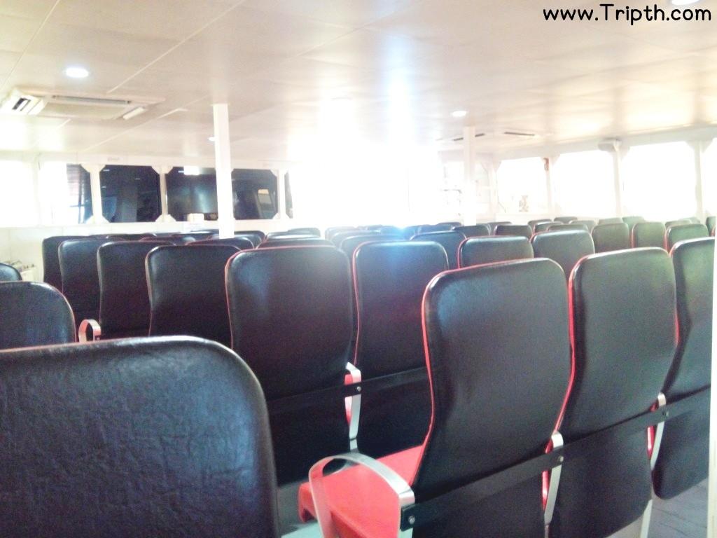ภายในเรือคาตามาราน