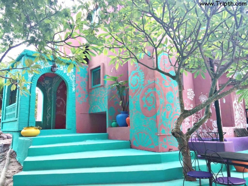 ที่พักสวยๆเกาะสีชัง โมร็อคโฮม By Tripth (12)