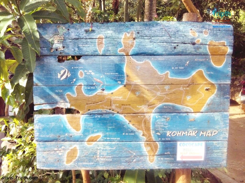แผนที่เกาะหมาก