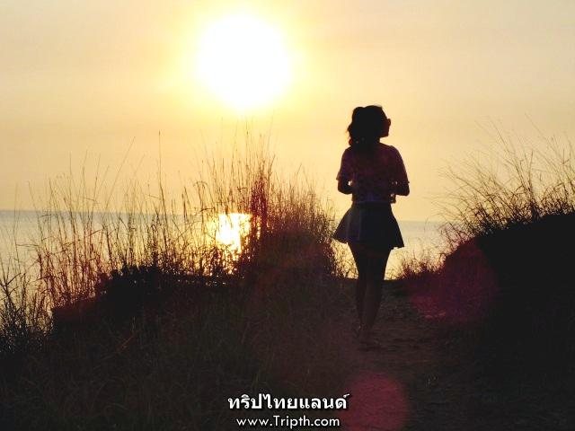 พระอาทิตย์ตก ช่องเขาขาด เกาะสีชัง (2)