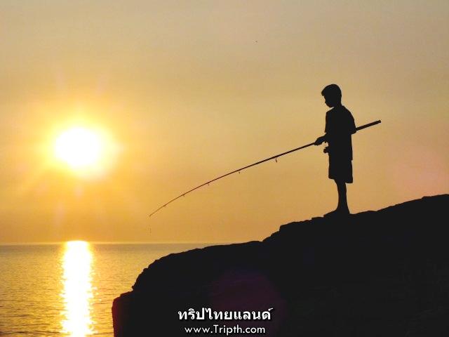 พระอาทิตย์ตก ช่องเขาขาด เกาะสีชัง (3)