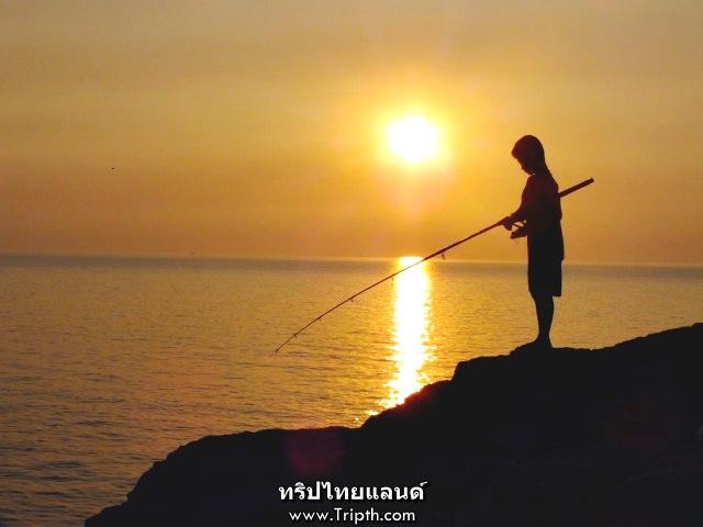 ตกปลาช่องเขาขาด เกาะสีชัง