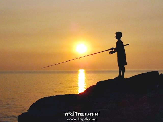 พระอาทิตย์ตก ช่องเขาขาด เกาะสีชัง (8)