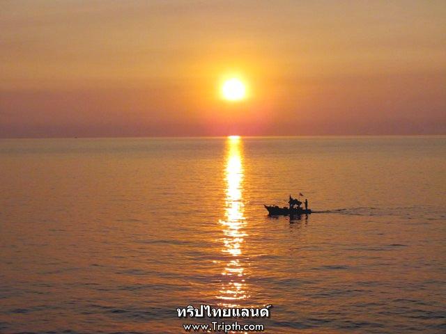 พระอาทิตย์ตก ช่องเขาขาด เกาะสีชัง (9)