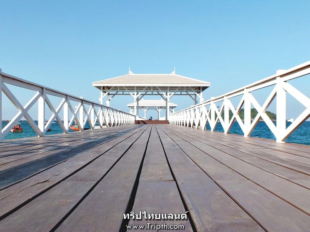 มุมสวยๆที่สะพานอัษฎางค์ เกาะสีชัง