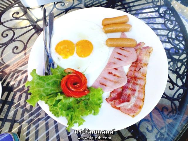 อาหารเช้าวันนี้ breakfast