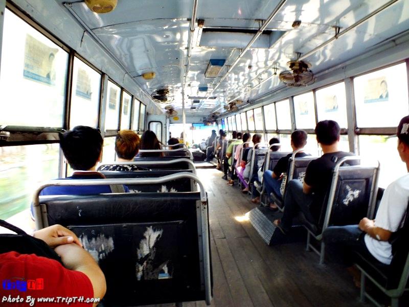 นั่งรถเมล์ สาย 27 ไปตลาดน้ำขวัญเรียม