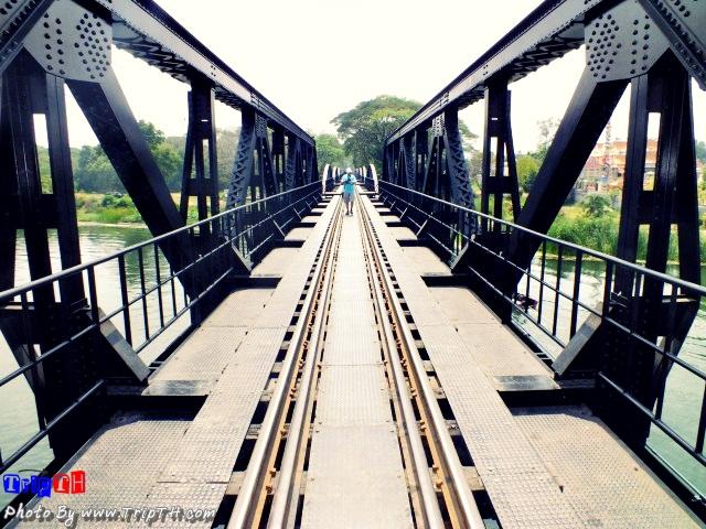 บรรยากาศบนสะพาน