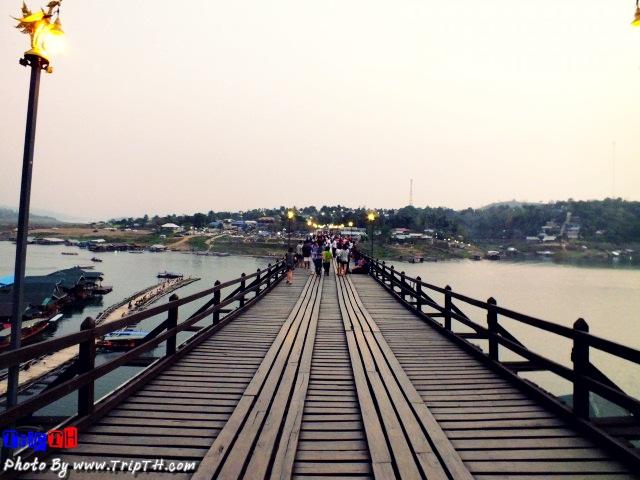 สะพานมอญ สังขละบุรี