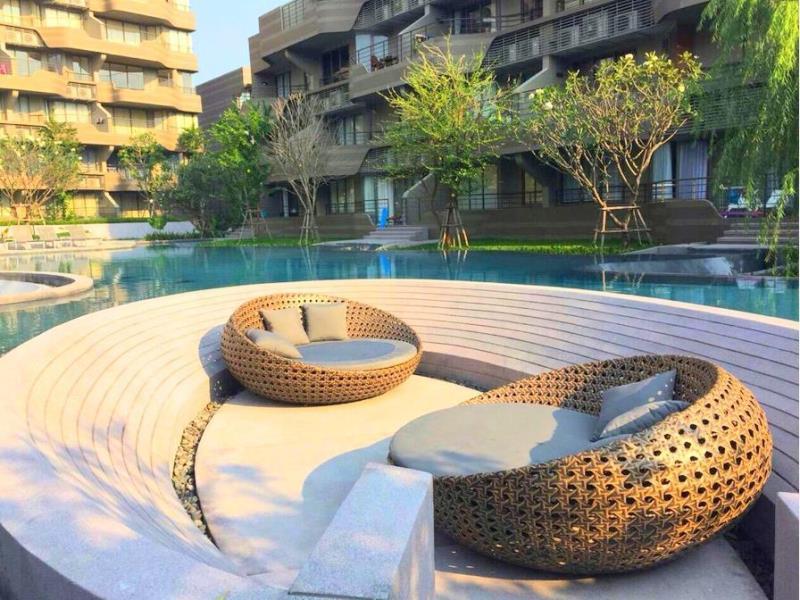 ชื่นชีวา บลูนาวี รูม แอท บ้านแสนงาม คอนโดมีเนียม (Chuenchewa Blue Navy Room @ Baan San Ngam Condominium)