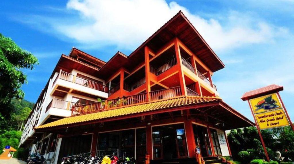 โรงแรมอลีนา แกรนด์ แอนด์ รีสอร์ท (Alina Grande Hotel & Resort)
