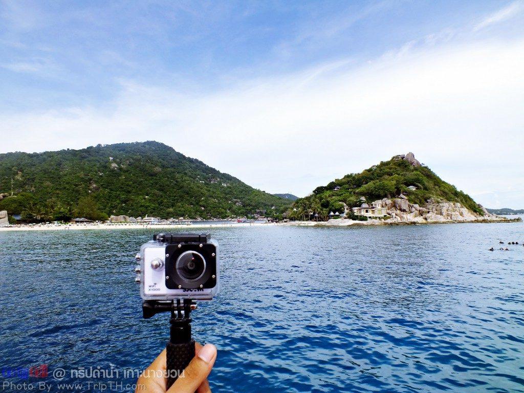 อุปกรณ์ถ่ายภาพใต้น้ำ Sjcam x1000