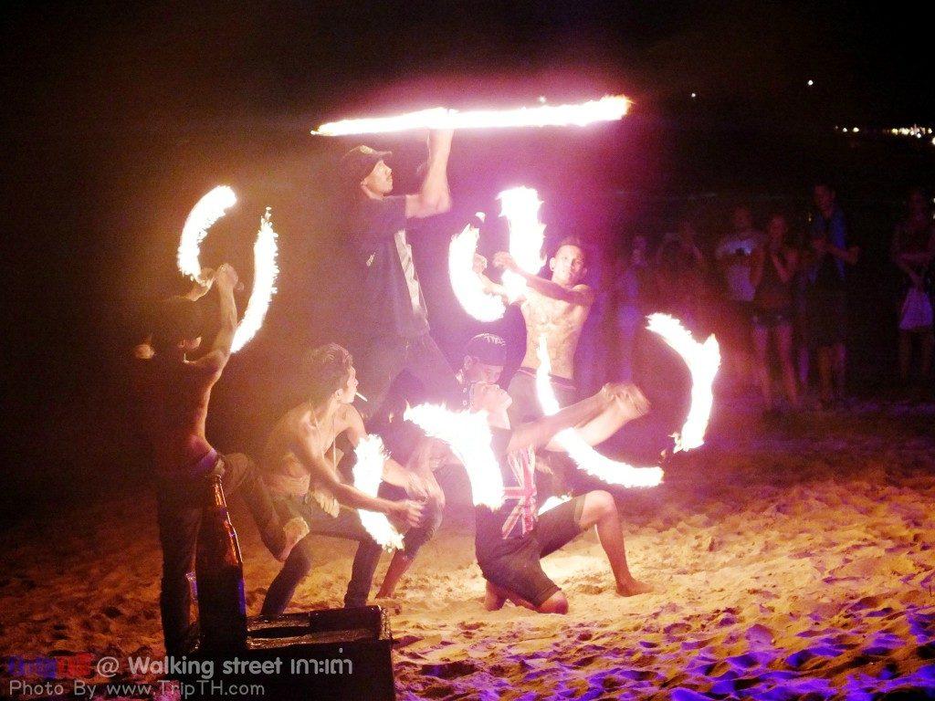 โชว์ควงไฟ หาดทรายรี (1)