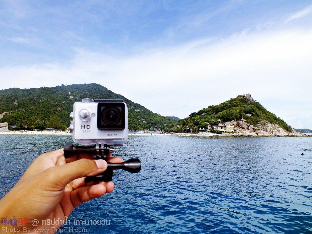 อุปกรณ์ถ่ายภาพใต้น้ำ Sport cam wifi