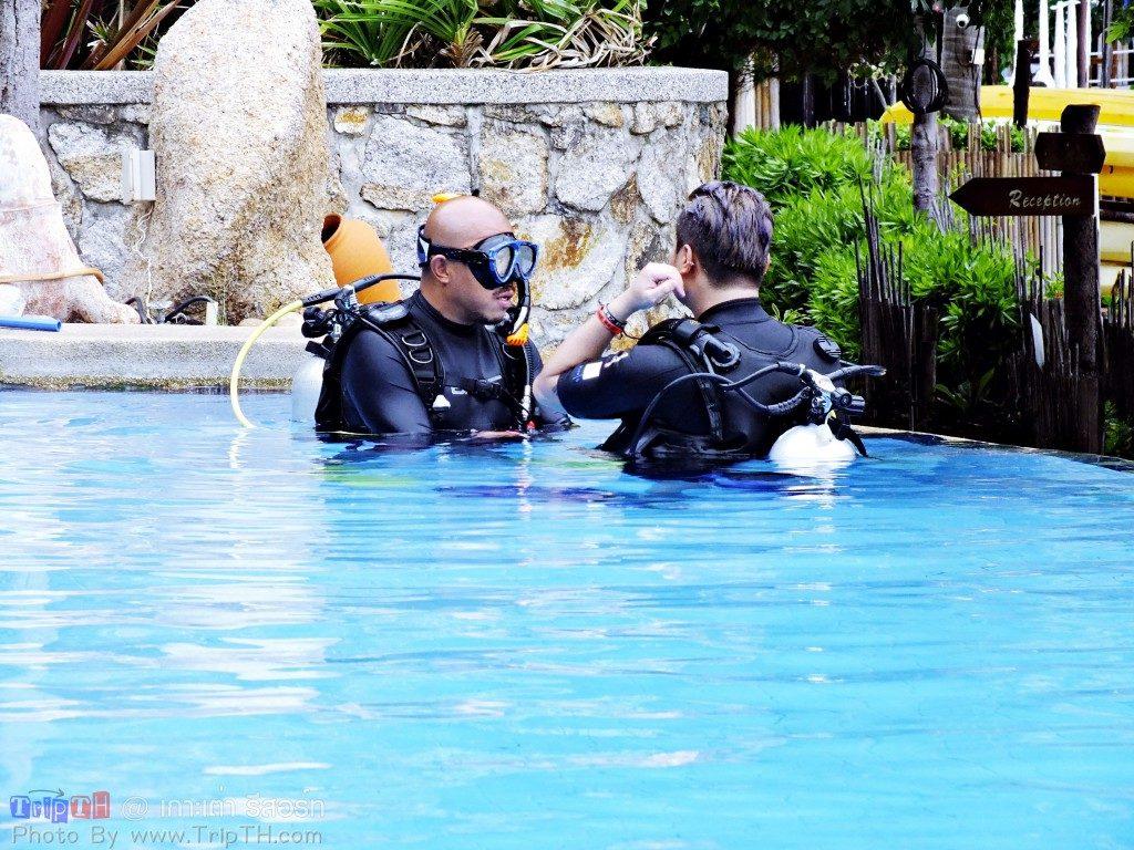 เรียนดำน้ำ เกาะเต่ารีสอร์ท (1)