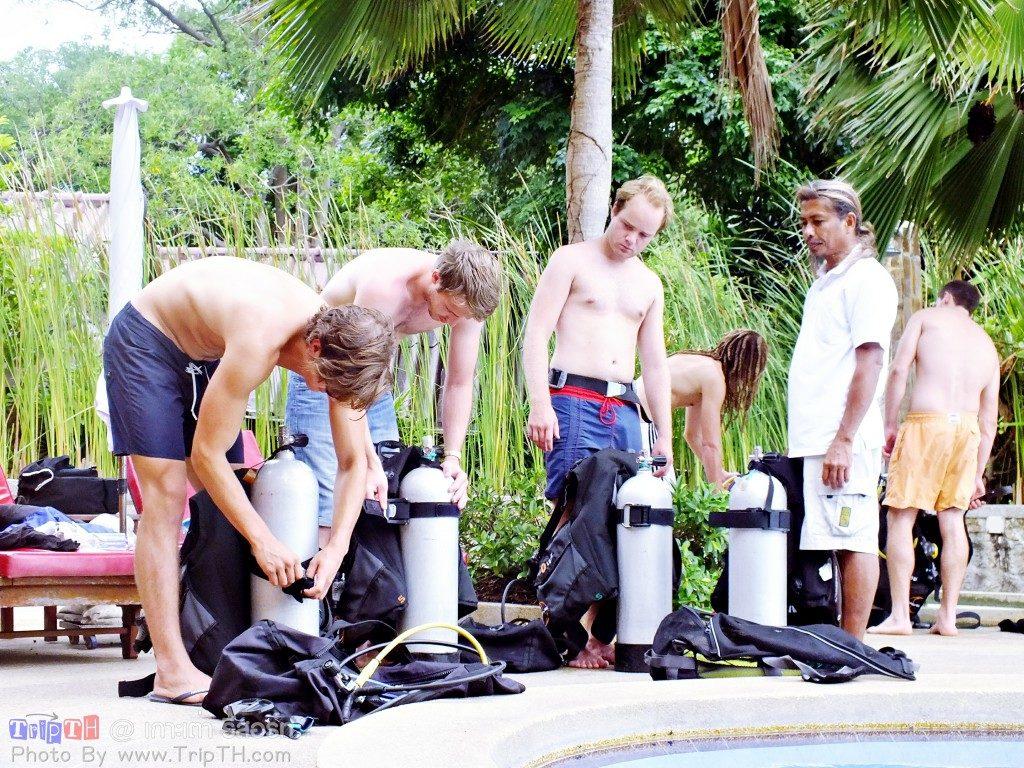 เรียนดำน้ำ เกาะเต่ารีสอร์ท (2)