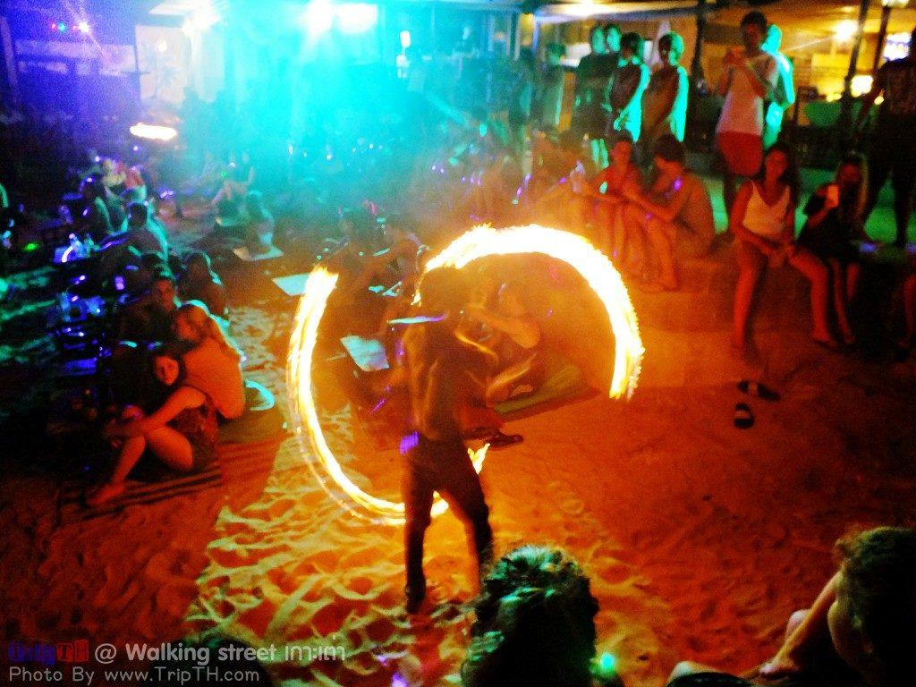 โชว์ควงไฟ หาดทรายรี (2)