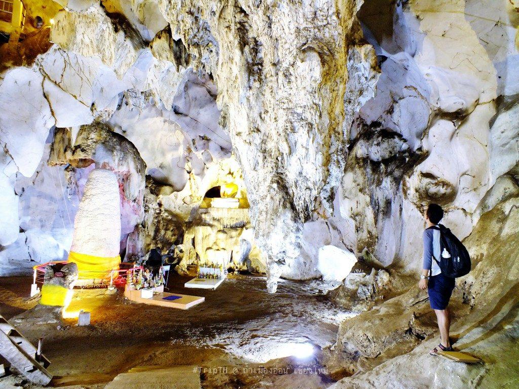 หินย้อย ขนาดใหญ่ ถ้ำเมืองออน (1)
