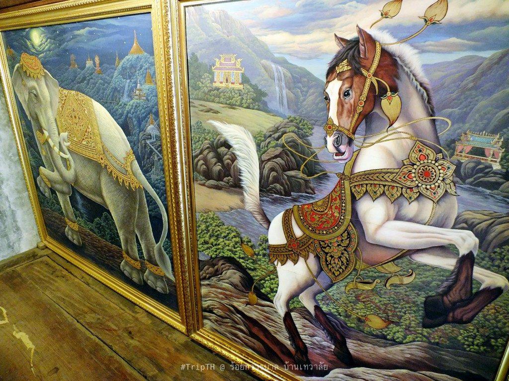 ภาพจิตรกรรม ร้อยทวารบาล บ้านเทวาลัย (4)