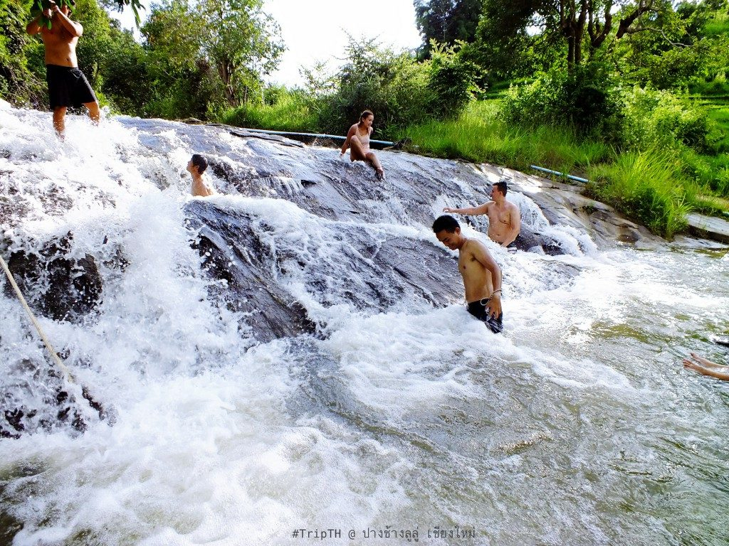 เล่นน้ำตกต่อ @ ปางช้างลูลู่ (1)