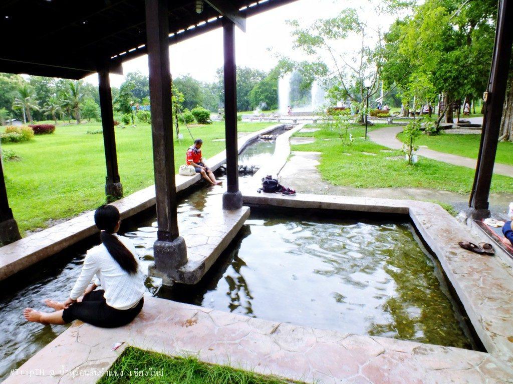 แช่น้ำแร่ บ่อน้ำพุร้อนสันกำแพง (1)