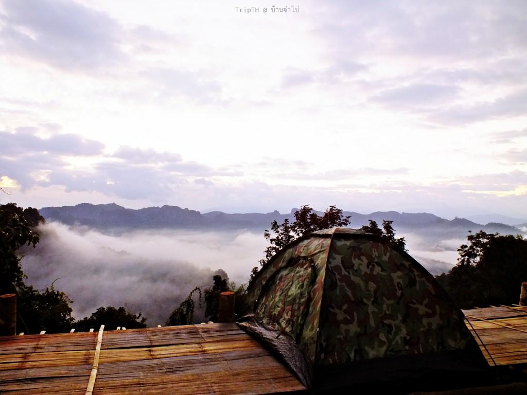 นอนเต็นรอทะเลหมอก (2)