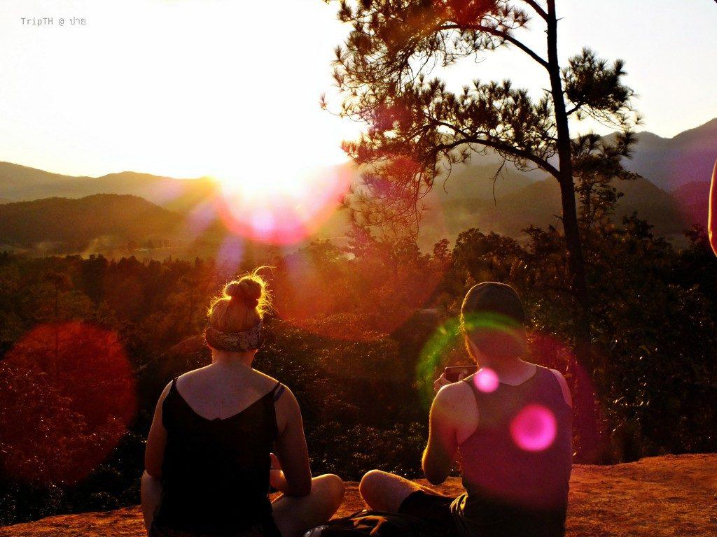 จุดชมพระอาทิตย์ตก ปาย (กองแลน) (1)