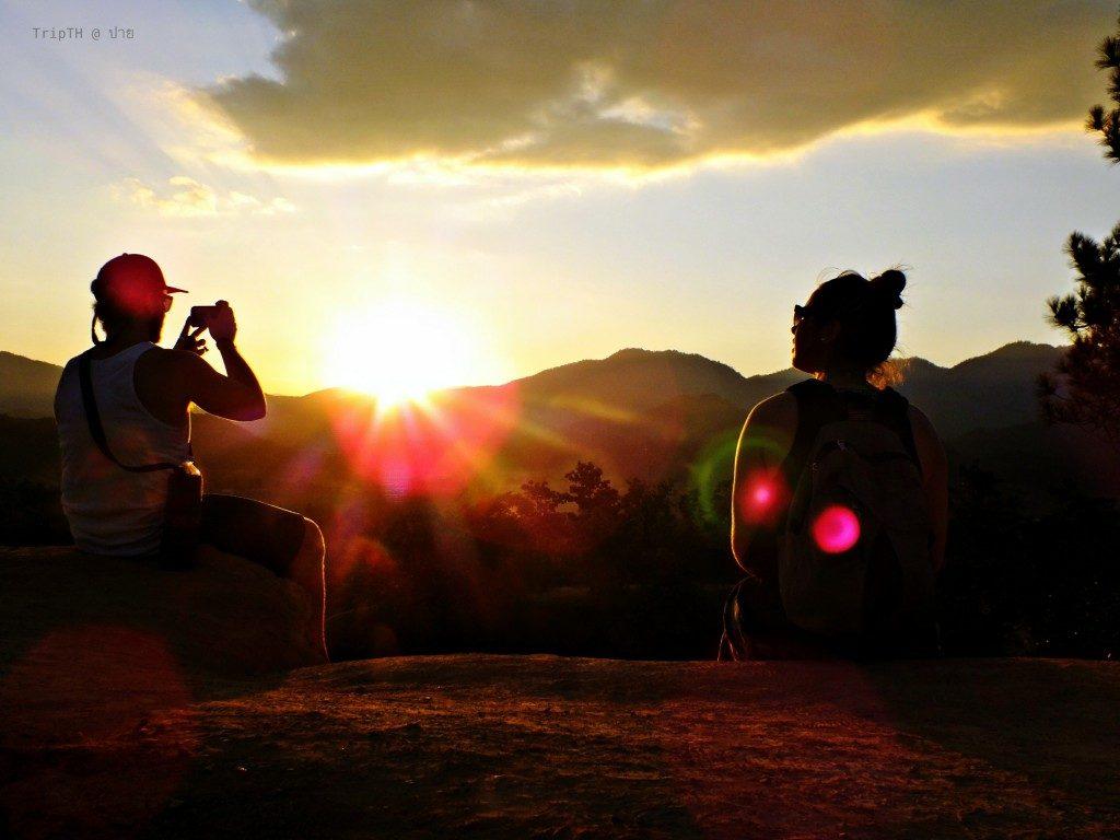 จุดชมพระอาทิตย์ตก ปาย (กองแลน) (2)