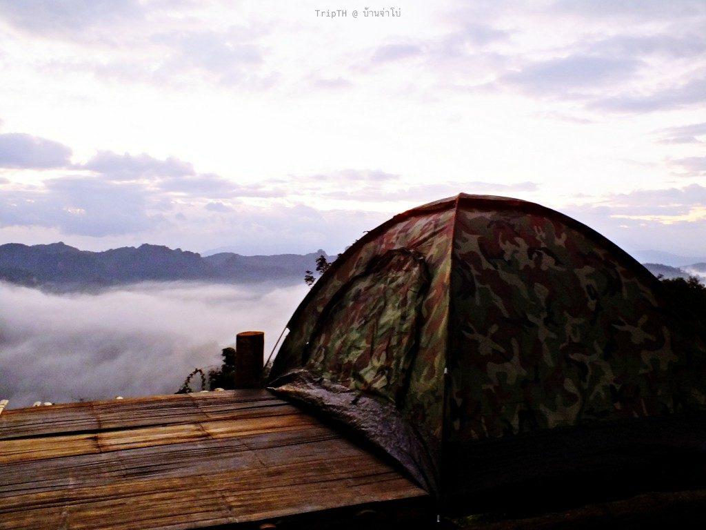 นอนเต็นรอทะเลหมอก (1)