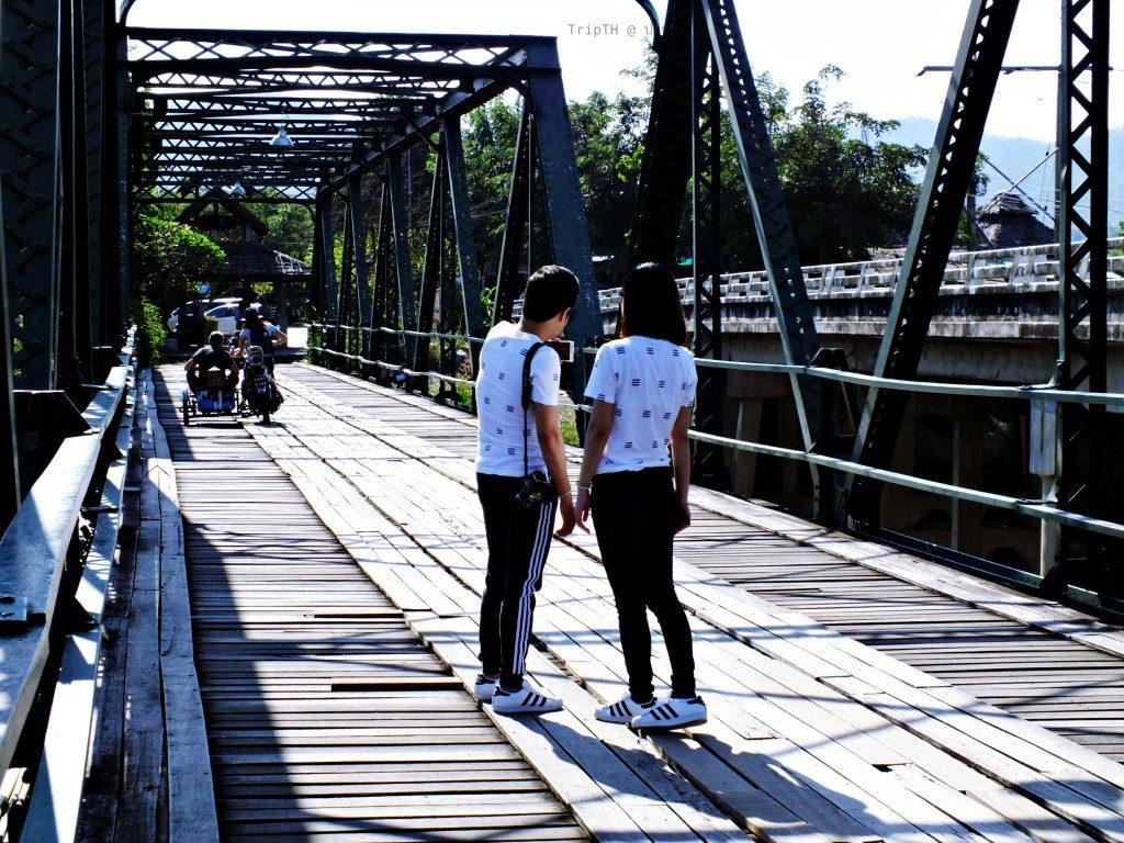 สะพานประวัติศาสตร์ ปาย