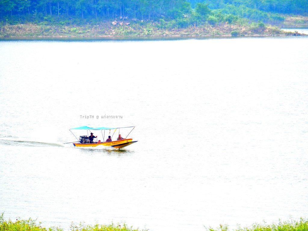นั่งเรือชมเขื่อนแก่งกระจาน (2)