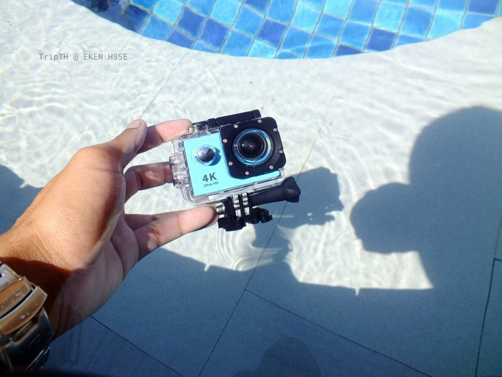 ภาพจากกล้อง Action camera 4k EKEN H9SE WIFI (มีรีโมท) (1)