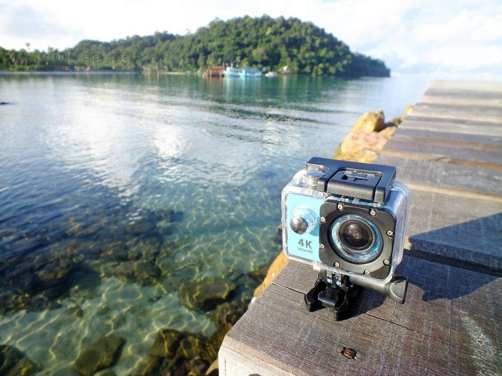 ภาพจากกล้อง Action camera 4k EKEN H9SE WIFI (มีรีโมท) (2)
