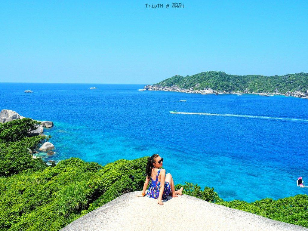 จุดชมวิว หมู่เกาะสิมิลัน (2)