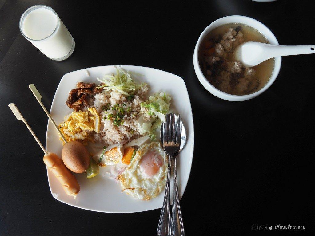 มื้อเช้า Day 3