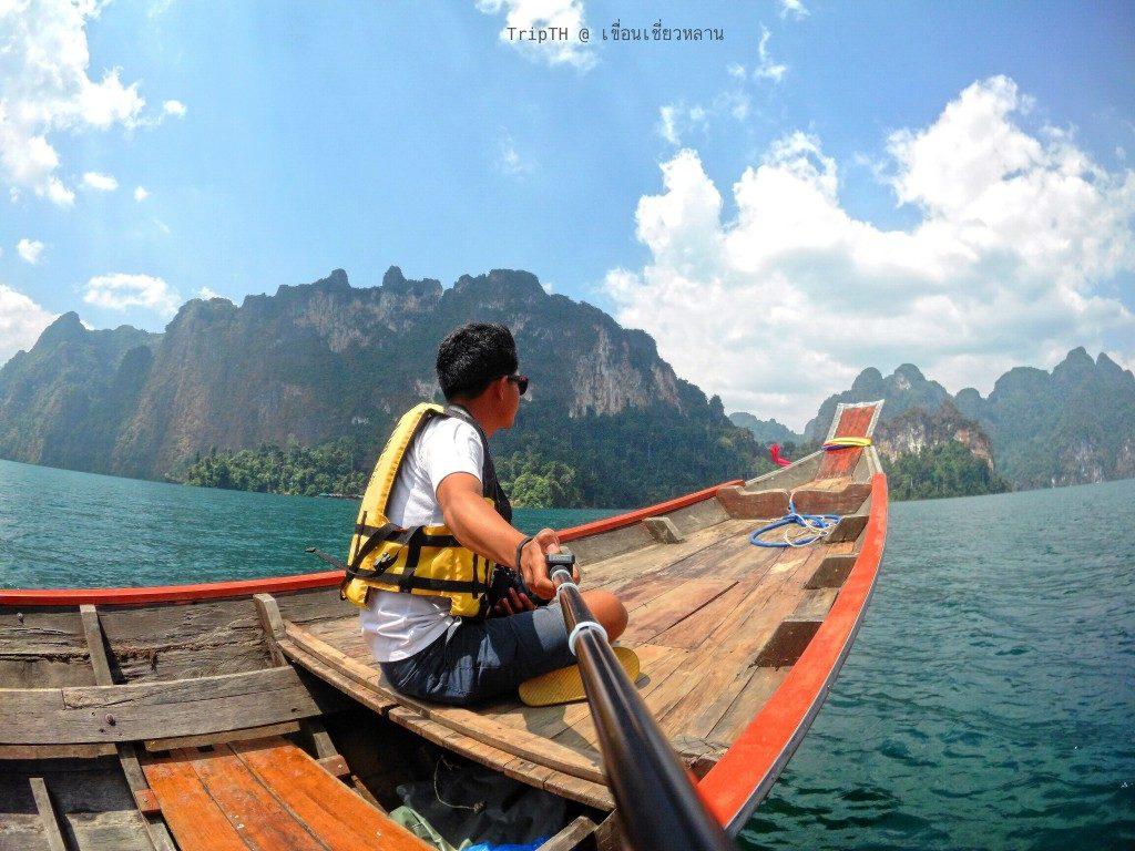 ล่องเรือเที่ยวเขื่อนเชียวหลาน (1)