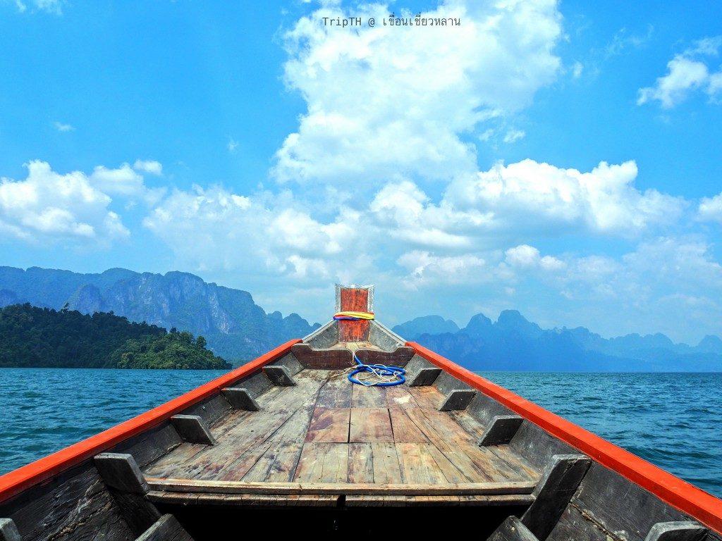 ล่องเรือเที่ยวเขื่อนเชียวหลาน (2)