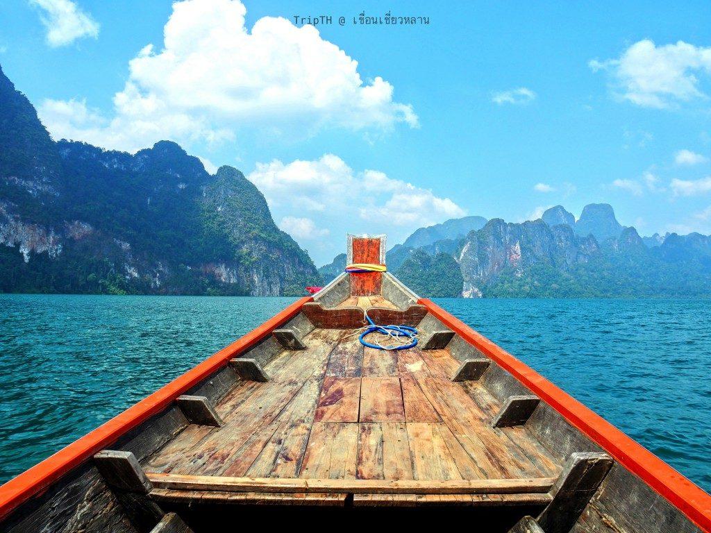 ล่องเรือเที่ยวเขื่อนเชียวหลาน (3)