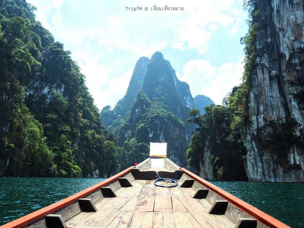 ล่องเรือเที่ยวเขื่อนเชียวหลาน (4)