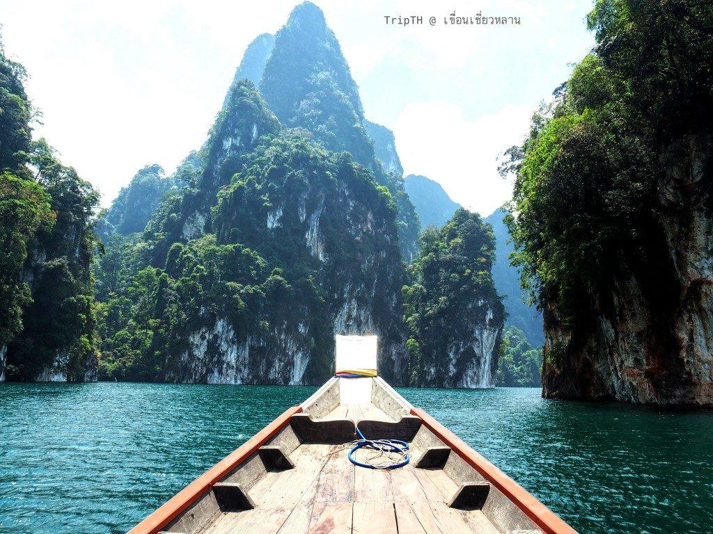 ล่องเรือเที่ยวเขื่อนเชียวหลาน (5)