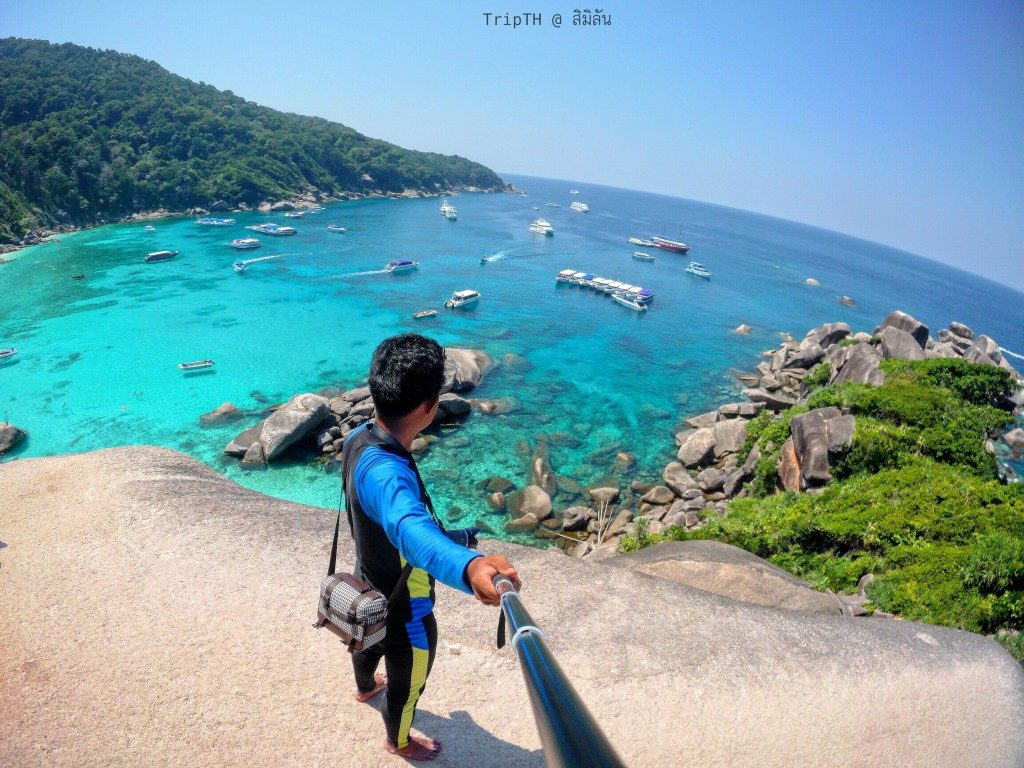 หินเรือใบ หมู่เกาะสิมิลัน (1)