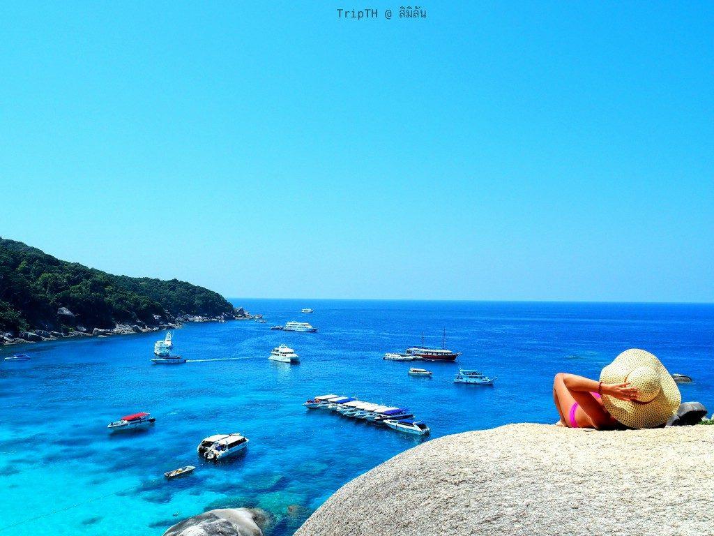 หินเรือใบ หมู่เกาะสิมิลัน (2)