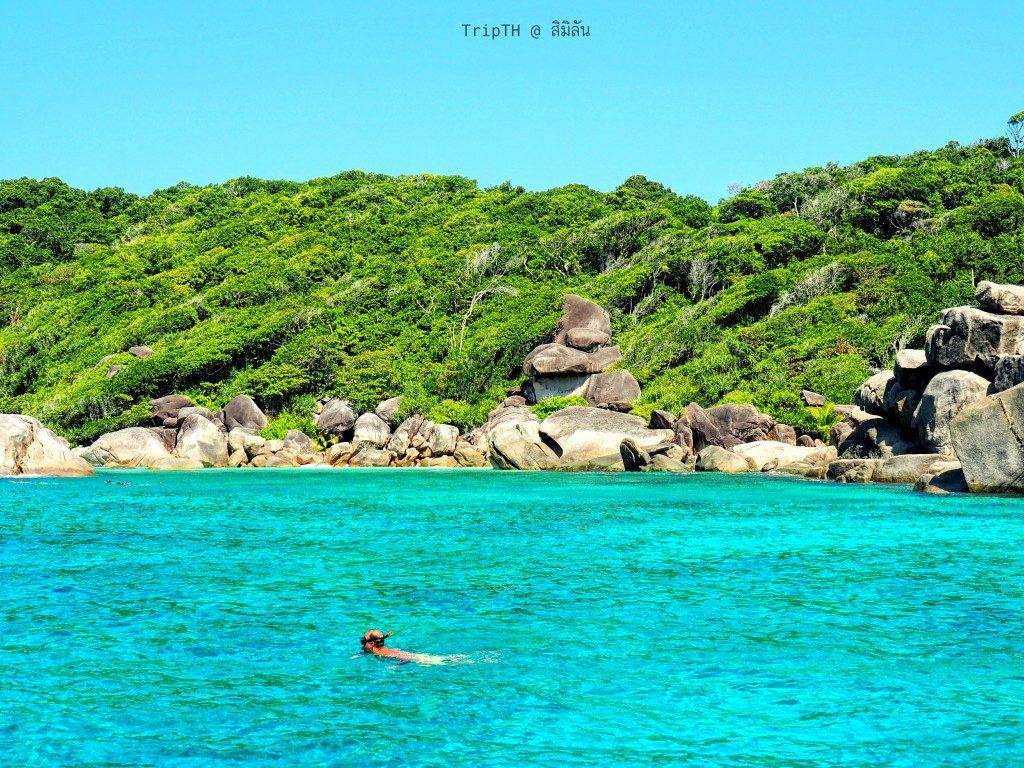 เกาะ 9 หมู่เกาะสิมิลัน (1)