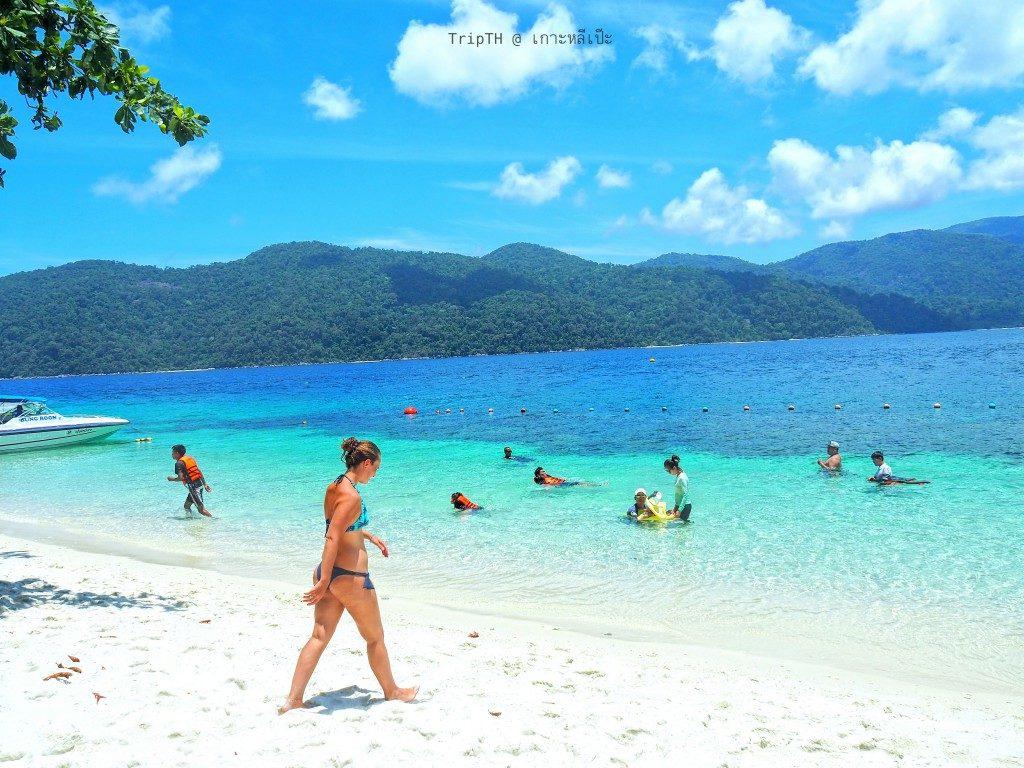 หาดทรายขาว เกาะราวี (4)