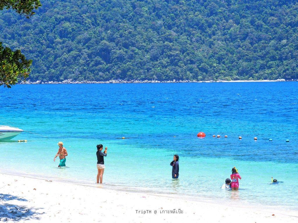 หาดทรายขาว เกาะราวี (5)