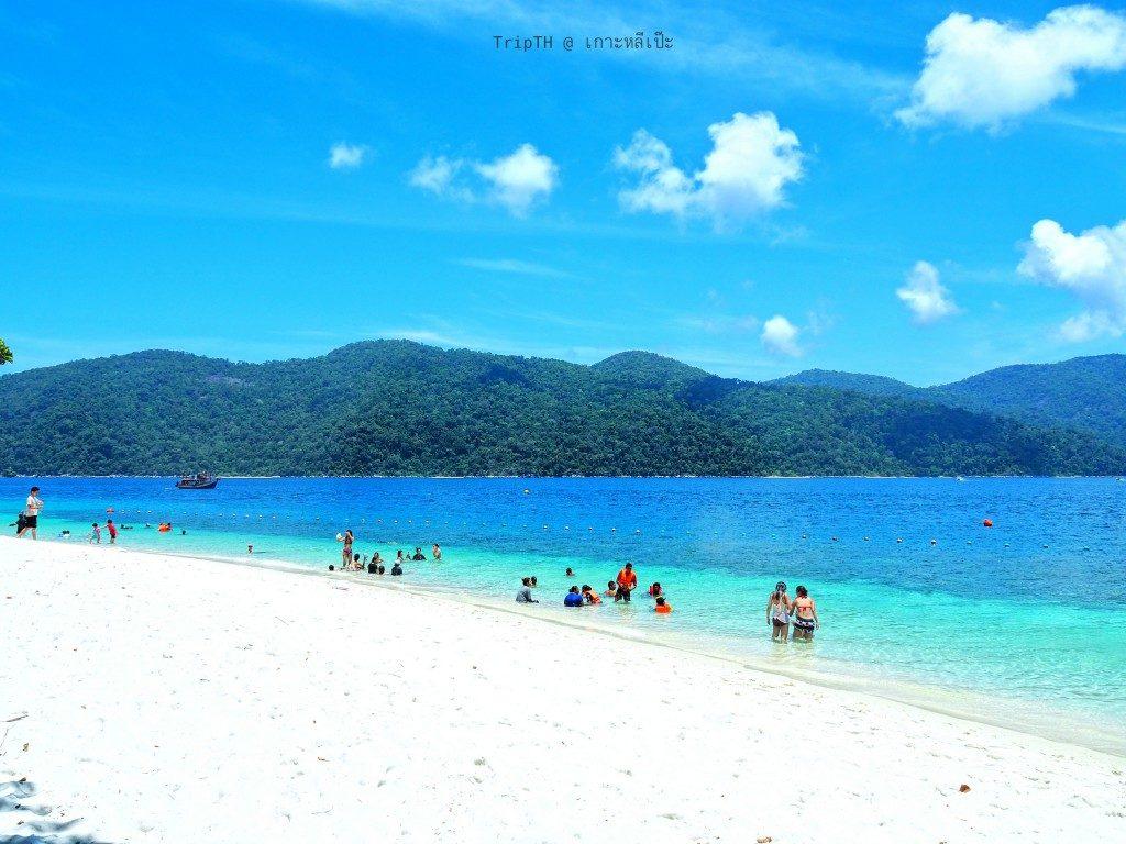 หาดทรายขาว เกาะราวี (6)