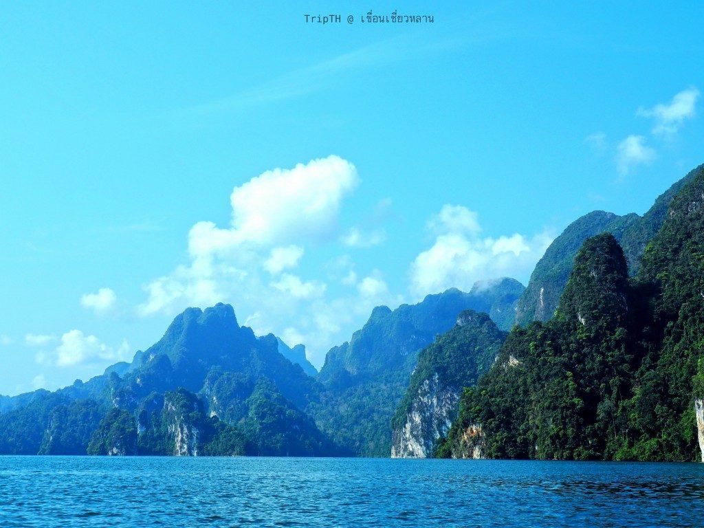 กุ้ยหลินเมืองไทย เขื่อนเชียวหลาน (2)