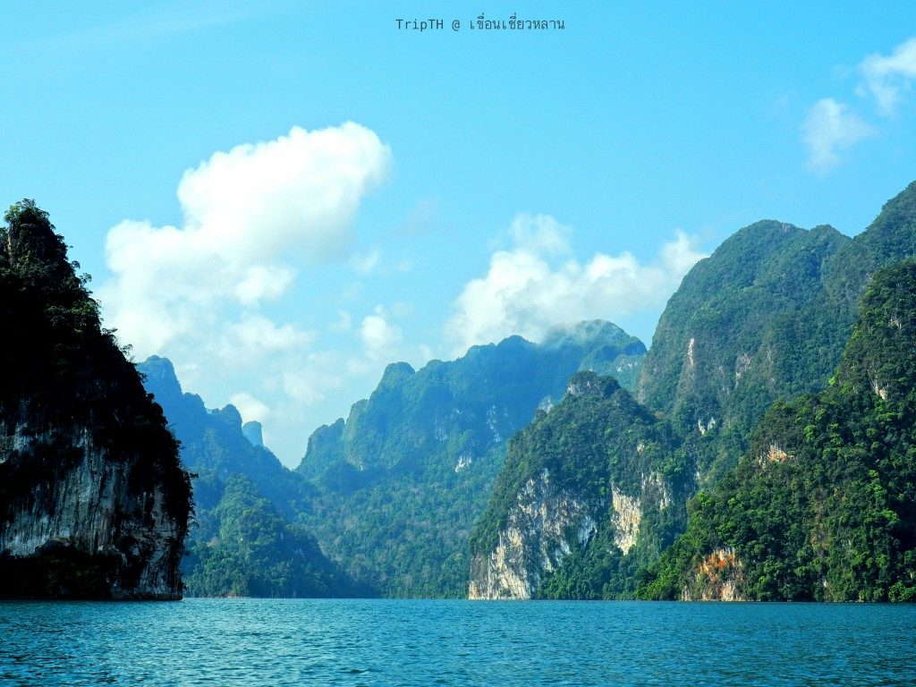 กุ้ยหลินเมืองไทย เขื่อนเชียวหลาน (4)
