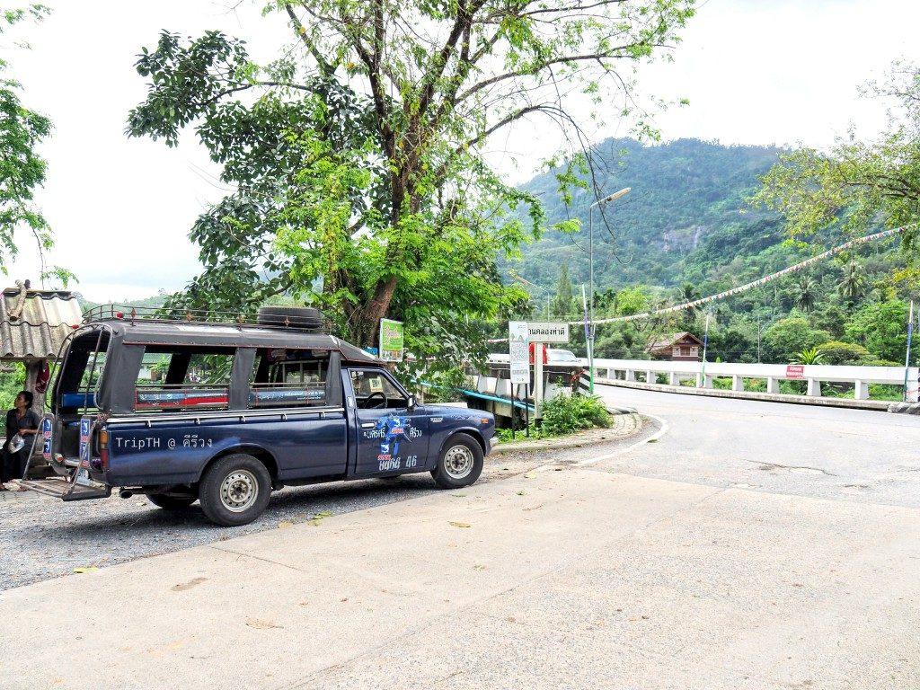 รถสองแถวหมู่บ้านคีรีวง