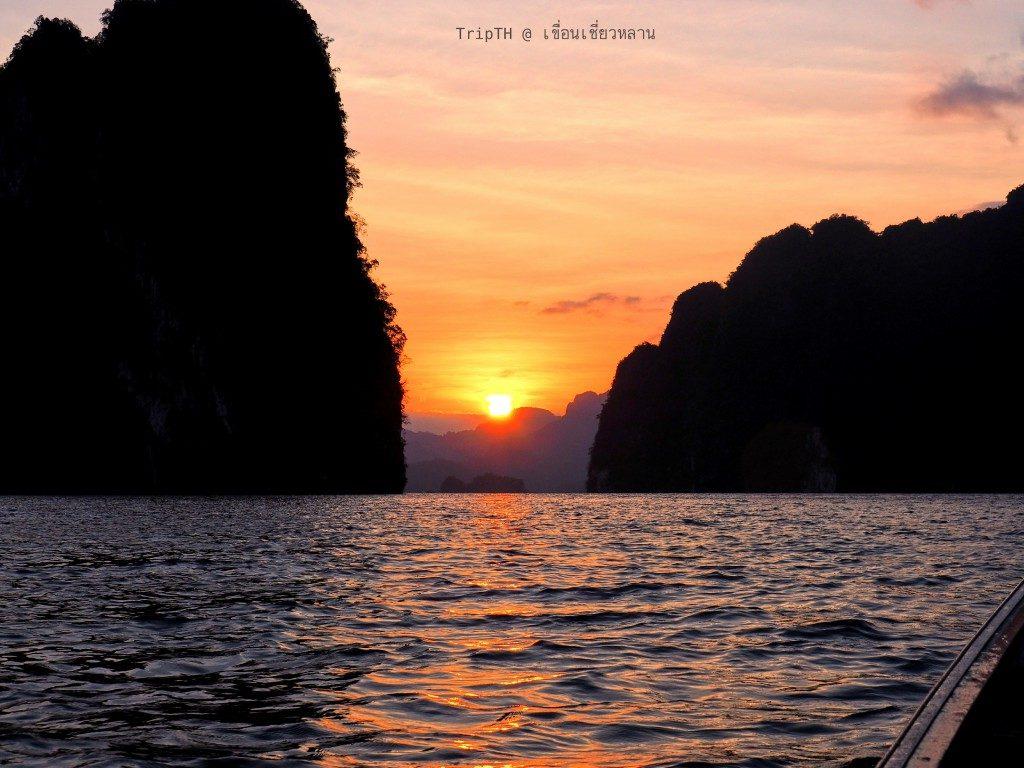 ล่องเริอชมพระอาทิตย์ตก (1)